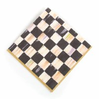 Courtly Check Luncheon Napkins Y