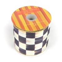 Courtly Check Ribbon 4 in