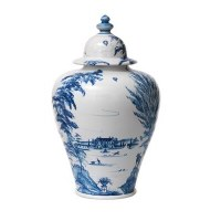 Country Estate Delft Large Ginger Jar