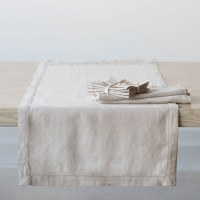 Heirloom Linen Flax Runner