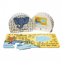 Jellycat If I Were An Elephant Puzzle
