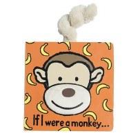Jellycat If I Were A Monkey Book