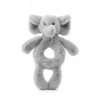 Jellycat Bashful Grey Elephant Ring