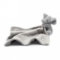 Jellycat Bashful Grey Elephant Soother