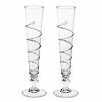 Amalia Champagne Flutes Set of 2