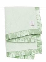 Little Giraffe Chenille Celadon Baby Blanket