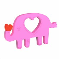 Manhattan Toy Company Elephant Silicone Teether
