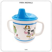 Baby Cie Farm Animals Sippy Cup