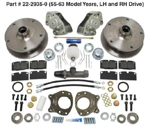 Disc Brake Kit Bus 55-63
