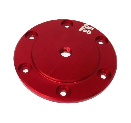 Billet Oil Sump Plate - Red