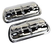 Valve Covers - Chrome Set