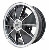 BRM Wheel Gloss Black 5/205 15x6.5 (EP00-9729)