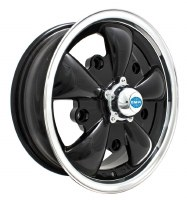GT-5 Wheel Black/Polished Lip 5/205 (EP00-9690)
