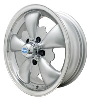 GT-5 Wheel Silver/Polished Lip 5/112 (EP00-9695)