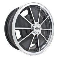 BRM Wheel Black/Polished Lip 5/112 (EP00-9697)