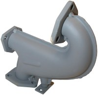Exhaust Elbow Bus 75-78