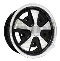 911 Look Wheel Polished/Black 15x4.5 (EP10-1108)