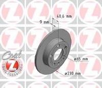 Brake Rotor - Rear (100123600)