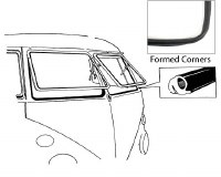 Safari Window Seals Body-Frame