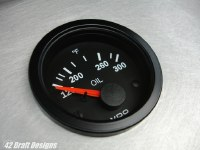 VDO 300degF Oil Temp Gauge