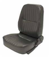 Low Back Seat LH Black