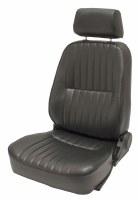 Low Back Seat LH Black w/head