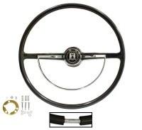 Steering Wheel 62-71 Black