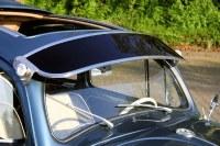 Vintage Sun Visor Beetle Smoke