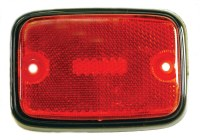 Side Marker Lens T2 75-79 Red
