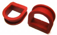 Prothane MK2 Steering Rack Bushings Red (PRO22-702)