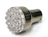 1157 LED White Bulb Each