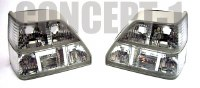Golf 2 Taillights - Crystal