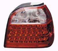 T/L Golf 3 LED CLEAR/RED