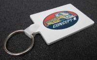 Concept-1 Keychain - Singlecab