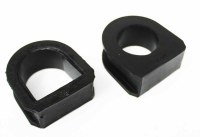 Prothane MK1 Steering Rack Bushings Black (PRO22-701-BL)