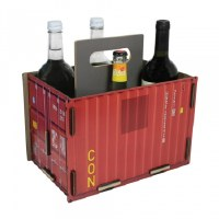 Bottle Carrier - Red Container