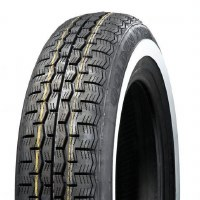 155x15 WhiteLine Radial Tire