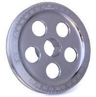 "Crank Pulley CB 7"" Clear"