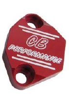 Fuel Pump Block Off - CB Red