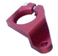 Billet Dist Clamp - CB Red