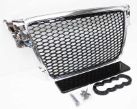 Audi A4 B8 RS4 Grill Chrome
