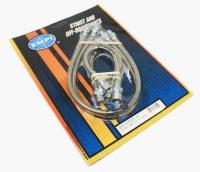 S/S Brake Hose Kit : T1 58-64