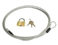 Car Cover Lock & Cable