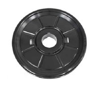 Crank Pulley Billet Black