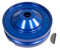 Alt/Gen Pulley Billet Blue