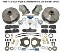 Disc Brake Kit Bus 55-63