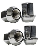 Chrome Nuts 14mm Set of 4