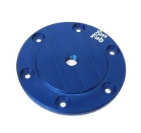 Billet Oil Sump Plate - Blue