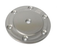 Billet Oil Sump Plate - Silver