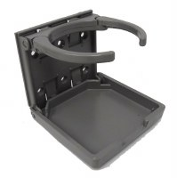 Folding Cup Holder Grey